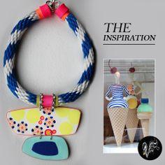 The inspiration! Moschino London – Necklace   VeruDesigns, LLC