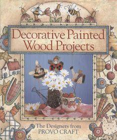 REVISTAS DE MANUALIDADES GRATIS: Pintura en madera