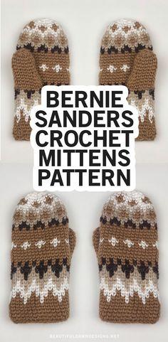 Crochet Mittens Free Pattern, Crochet Socks, Knit Mittens, Crochet Gifts, Mitten Gloves, Easy Crochet, Knitted Hats, Knit Crochet, Knitting Patterns