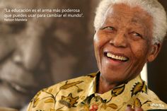Biografía y vida de Nelson Mandela. Pacifista, luchó contra el Apartheid en Sudafrica. :: SerFelices.org