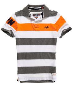 Superdry Hoopstripe Hit Polo - Men's Polo Shirts
