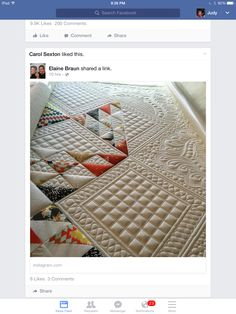 Amazing Longarm Quilting by Kathleen Quilts!