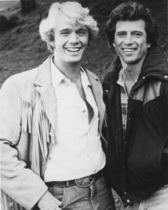 John Schneider & Tom Wopat from 1983- there was no other 7 yr old girl on earth who loved The Duke Boys more than this chick. LOVED!