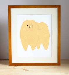 Chow Chow Illustration  - FREE US SHIPPING