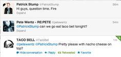 pete wentz Taco Bell Patrick Stump