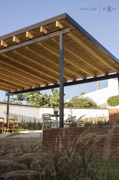 Techumbre de madera (De Región 4 Arquitectura)