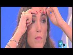 """Come togliere le rughe sulla fronte- Joanna Hakimova """"Detto Fatto"""", Rai2 - YouTube"""