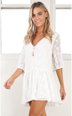 Full Of Dreams dress in white lace