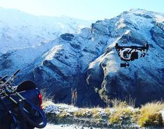 Chasing trucks through the mountains with drones. Sounds like fun because it is. #drone #truck #mountain #adventure