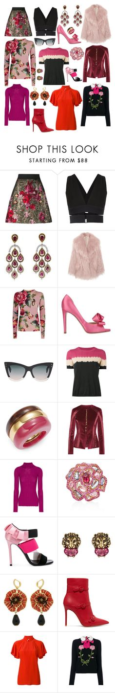 """""""Some of my favorite things #70"""" by andyarana ❤ liked on Polyvore featuring Dolce&Gabbana, Osklen, Miu Miu, Valentino, Fendi, Trina Turk, Altuzarra, Theory, Wendy Yue and Emilio Pucci"""