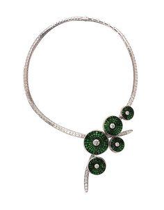 Van Cleef & Arpels - Bouquet necklace by Van Cleef & Arpels, via Flickr