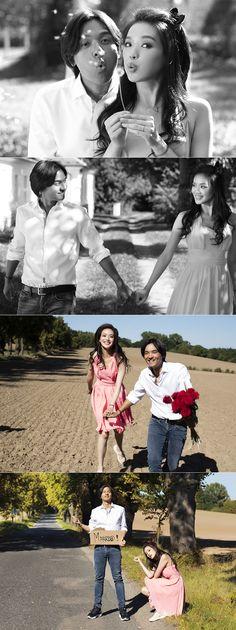 Taiwanese celebrity Shu Qi pre-wedding photoshoot in Prague!