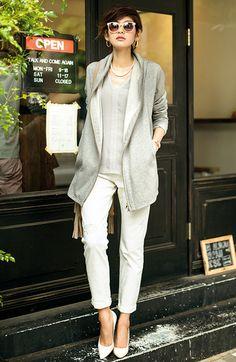 ミルブロウズ ストール風衿が着映えする ふんわり裏起毛スウェットジャケットの会(3回限定コレクション) | フェリシモ