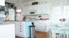 5 Budget Friendly Ways To Transform A Kitchen - White Lace Cottage