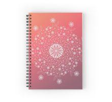 'Flower mandala' by OkopipiDesign Flower Mandala, Spiral, Stationery, Notebook, Flowers, Design, Paper Mill, Stationery Set