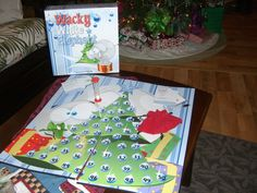 Wacky white elephant board game - Give it a try!