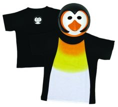 Penguin Mask and t-shirt combo set