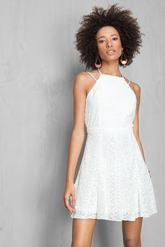 vestido detalhado costas | Dress to