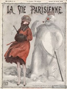Original vintage published in 1918 Georges Léonnec Vintage Ads, Vintage Prints, Vintage Posters, Vintage Magazines, Culture Art, Magazine Art, Magazine Covers, Advertising Archives, Ad Art