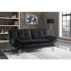 Ioneyes Futon Queen Black Mattress Textured Ffgtl41661545fylo Futons In 2018 Pinterest And Bed