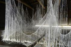 Yasuaki Onishi - Sculpture de Colle et de Cristal  (6)