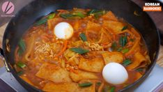 Rabokki Korean Sweet & Spicy Ramen Recipe & Video - Seonkyoung Longest Spicy Ramen Recipe, Ramen Recipes, Curry Recipes, Riblets Recipe, Bulgogi Recipe, Easy Asian Recipes, Ethnic Recipes, Korean Recipes, Tteokbokki Recipe Easy