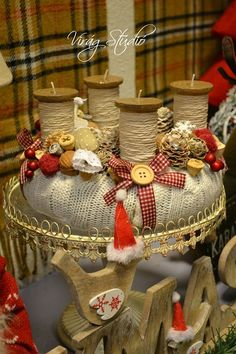 Christmas Advent Wreath, Xmas Wreaths, Nordic Christmas, Christmas Candles, Christmas Is Coming, Christmas 2016, Christmas Time, Christmas Decorations, Advent Wreaths