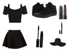 """""""A simple piece of clothes"""" by summerava ❤ liked on Polyvore featuring beauty, Neil Barrett, Converse and Stila"""