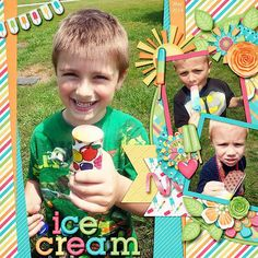 Ice Cream - Scrapbook.com