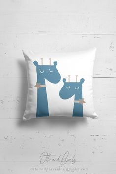 Giraffe decor baby girl nursery pillow by OttoandPixelsDesign on Etsy Giraffe Decor, Giraffe Nursery, Girl Nursery, Baby Room Decor, Nursery Decor, Animal Pillows, Kids Pillows, Scandinavian Kids Rooms, Kids Decor