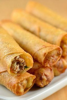 Lumpia What it is: Filipino–style spring rolls.  Why it's awesome: The filling varies, but one thing remains the same: You can (and will) inhale them by the dozen.