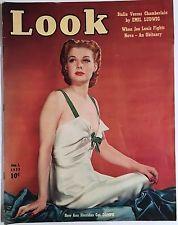 1939 ANN SHERIDAN LOOK MAGAZINE - BOXER LOU NOVA, STALIN, BOSTON RED SOX, DEWEY