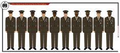 RSA Marine Class-A Service Dress Green Uniforms by on DeviantArt Marines Uniform, Marine Corps Ranks, National Movement, Battle Dress, Green Dress, Deviantart, Green Gown