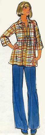 Mid & Late 1970s Fashion | Lisa's Nostalgia Cafen...modified this into my first maternity nurse uniform.