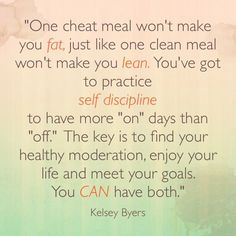Cheat meals.....
