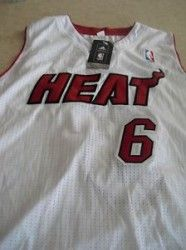 #Mesa AZ Merchandise / #LebronJames #MiamiHeat Stitched Embroidered #Adidas #Jersey, Men Large +2. - Geebo