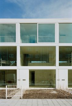 23 Town Houses in Amsterdam / Atelier Kempe Thill