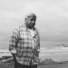 Ans Westra, Handboek. Hone Tuwhare at Kaka Point [1988] by Rufus.Knight, via Flickr