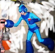 Mega Man Homemade Costumes 1