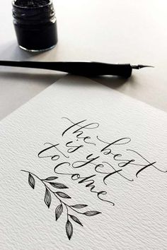 If the entire design of your wedding stationery isn't something you comfortable doing yourself, why not take up calligraphy? It's the perfect way to add some DIY into your wedding invitations, especially if you're going for a an elegant and sophisticated theme. #weddinginvitations #weddinginvites #diy #diywedding #diyideas #invitation #wedding #weddingideas #weddinginspiration #rustic #homemade #calligraphy