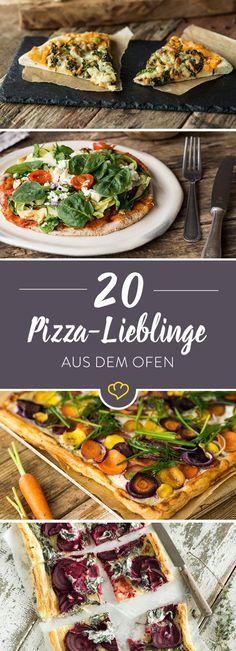 Margherita oder Funghi? Diavolo oder Napoli? Wie magst du deine Pizza am liebsten? Die 20 besten Pizzarezpete - so lecker wie in Italien.
