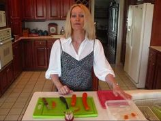 Betty's Quick Tip 18--How to Make Carrot Curls for Garnish