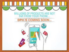 Now you can buy and sell millions of products through your phone!... DPH App is coming soon... Yallah!