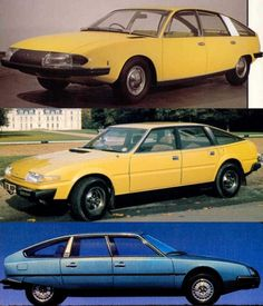 Citroen CX - Rover SD1 / For more interior POP and other stuff, go to Interiorator.com - transmitting tomorrow's trends today on http://www.interiorator.com
