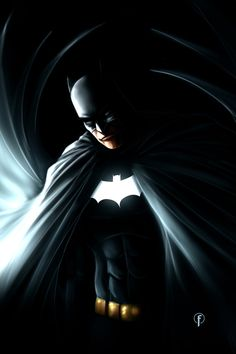 Batman The Dark Knight by Riccardo-Fasoli.deviantart.com