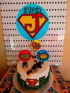 "Photo 1 of 27: Superhero / Birthday ""Super James 5th birthday"" | Catch My Party"