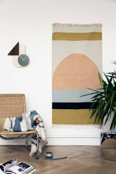 Why Stylists Use Rugs as Wall Hangings (and You Should Too) | Apartment Therapy
