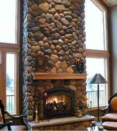 indoor stone fireplace designs | JSN ImageShow - Joomla 1.5 extension (component, module) by ...