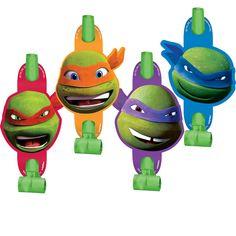 Teenage Mutant Ninja Turtles Blowouts | 8 ct