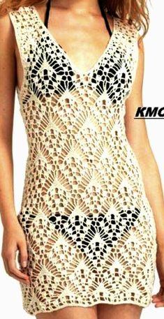 Beachcomber Tunic pattern by Brandi Isham Crochet Long Dresses, Crochet Beach Dress, Crochet Clothes, Crochet Lace, Crochet Books, Lace Dress Pattern, Tunic Pattern, Lace Patterns, Crochet Patterns